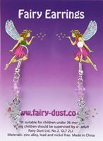 Fairy Dust Earrings- White