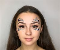 face jewels look amazing and are simple to apply. 6 colour choices