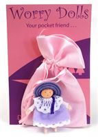 Lilac Worry Doll
