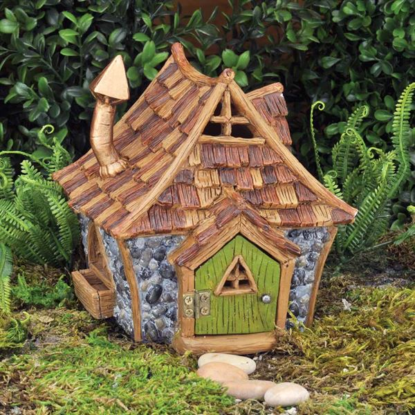 Cottage Fairy House by Fiddlehead Fairy Gardens
