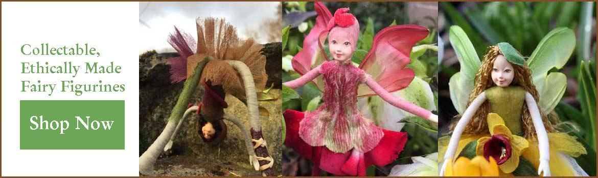 ethically made fairy figurines by Tassie Design wholesale uk supplier