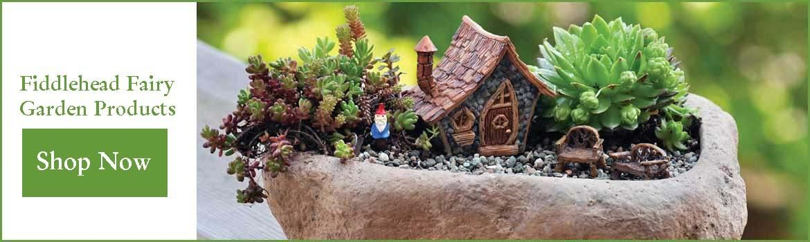 wholesale fairy garden products from Fiddlehead