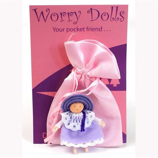 Worry Doll- Lilac