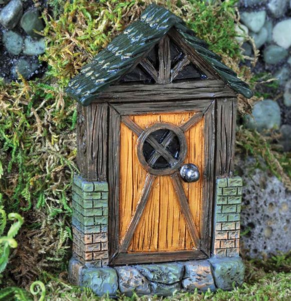 Fiddlehead Cottage Door
