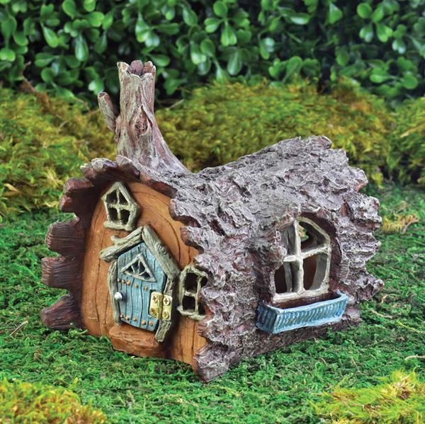 16433-Fiddlehead-Fairy-Log-House