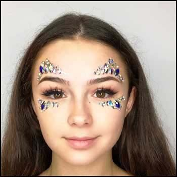 face jewels and face gems by fairygoodies. Wholesale face jewels, UK supply