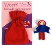 Personitas Boy Worry Doll