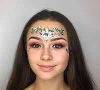 High quality face jewels for festivals or parties