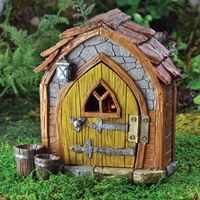 Fiddlehead Gnome Foyer for Fairy Garden