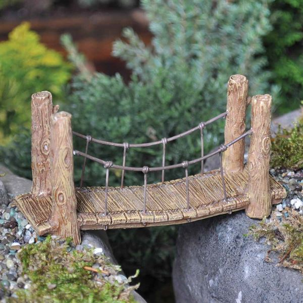 Suspension Bridge for Fairy Garden