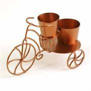 tricycle planter for miniature gardens- Fiddlehead