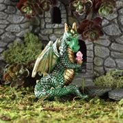 Fairy Garden Dragon with Ice Cream