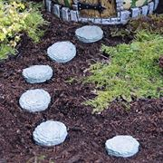 Fiddlehead stepping stones